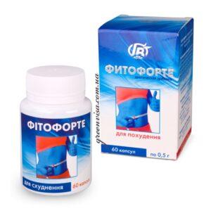 Капсулы Фитофорте - капсулы для похудения GreenVisa фото